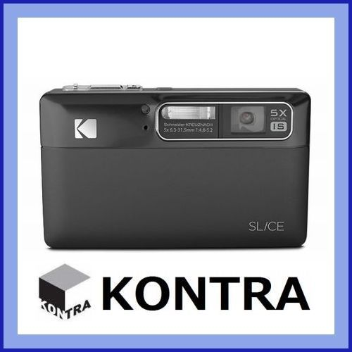 Digitalkamera Kodak Slice schwarz